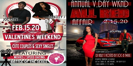 SEXY SINGLES & CUTE COUPLES V-DAY WEEKEND EVENT