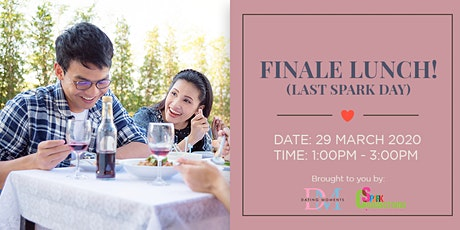 LAST 2 SLOTS FOR LADIES! Finale Lunch! (50% OFF) tickets