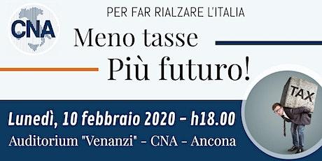 Meno tasse, più Futuro! biglietti