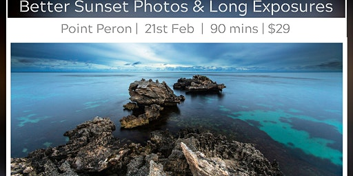 Sunset & Long Exposure Photography - Point Peron