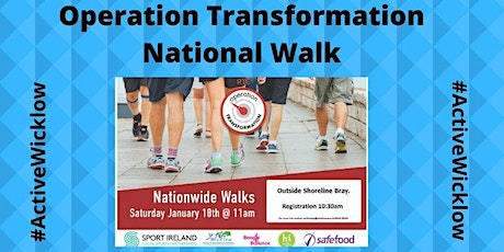 Operation Transformation National Walk Shoreline Leisure Bray tickets