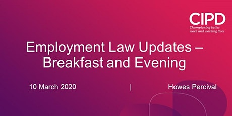 Employment Law Update - Evening Session tickets