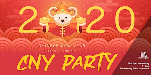2020 Chinese New Year Party For InvestingNote Valued Members