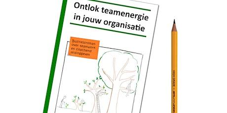 Boeklancering - Ontlok Teamenergie tickets