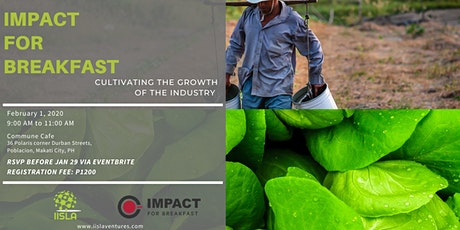 Impact for Breakfast IV - Agri-Tourism tickets