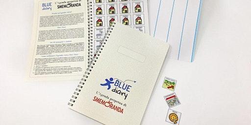 Presentazione dell'agenda Blue-diary
