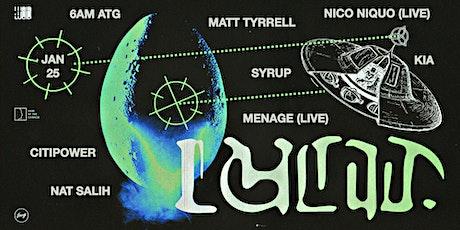 Lucid: Syrup, Kia, Citipower, Menagé LIVE, Nico Niquo LIVE, Matt Tyrrell tickets