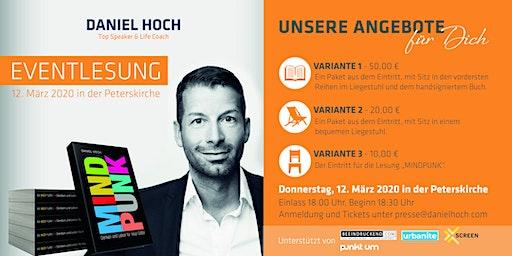 """Daniel Hoch """"MINDPUNK"""" Lesung zur Leipziger Buchmesse 2020"""
