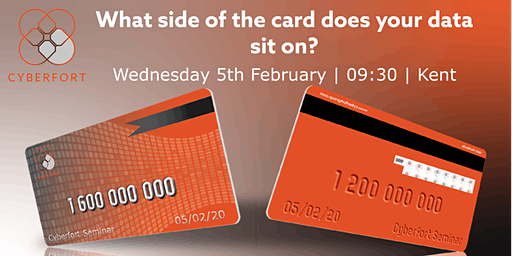 What side of the card does your data sit on?