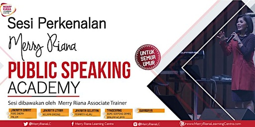 Merry Riana Public Speaking Academy