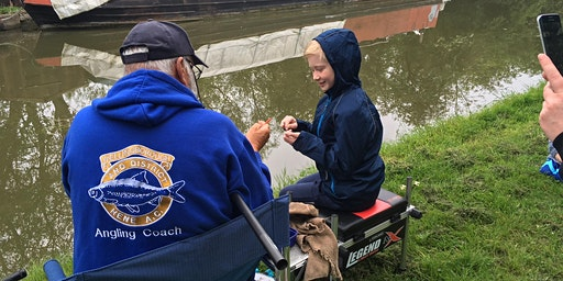 Free Let's Fish! session - Foxton - Open Day