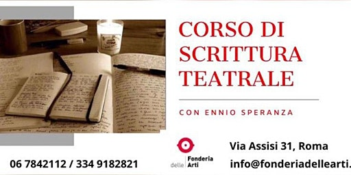 Open Day Corso di Scrittura Teatrale con Ennio Speranza
