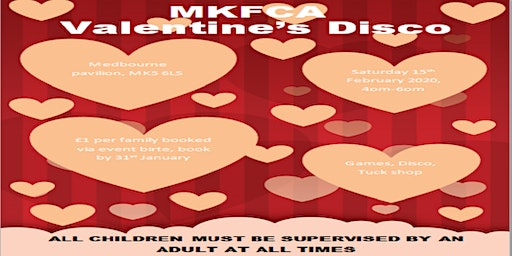 MKFCA Valentine's Party Disco Event
