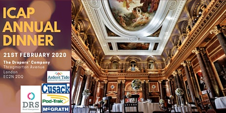 icap's Annual Dinner 2020 tickets