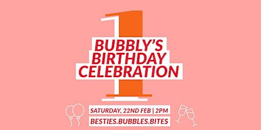 Bubbly's 1st Birthday