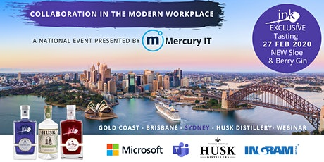 Collaboration in the Modern Workplace with Microsoft - Sydney & Webinar 27FEB20 tickets