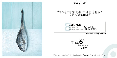 8-COURSE MICHELIN SEAFOOD MENU BY CHEF NICOLAS BOUTIN, EPURE tickets