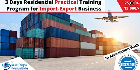 3 Days Import-Export Business Course. tickets
