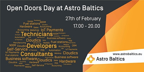 Network & Chill: Astro Baltics open doors day tickets