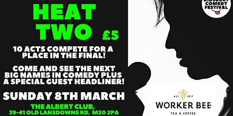 WDCF20: New Act Competition: Heat 2 tickets