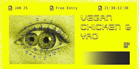 Vegan Chicken & Yao at Terrible Baby tickets