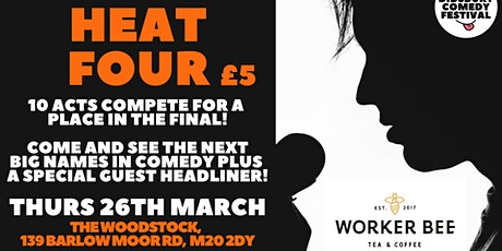 WDCF20: New Act Competition: Heat 4 tickets