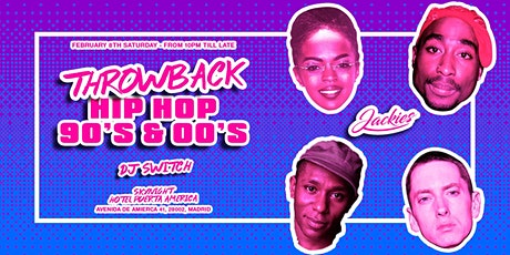 Jackies Pres: Throwback Hip Hop 90' & 00' Rooftop Party tickets