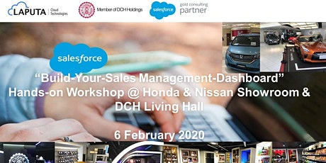 """Build-Your-Sales Management-Dashboard"" Hands-on Workshop (6 Feb 2020) tickets"