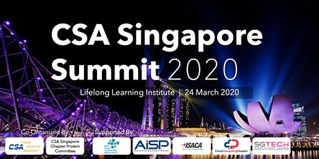 CSA Singapore Summit 2020 tickets