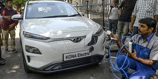 Summer Training on Electric Vehicle Assembly using CKD KITs