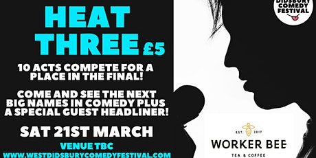 WDCF20: New Act Competition: Heat 3 tickets