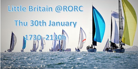 Thursday 30th January, Little Britain @RORC Monthly Network tickets