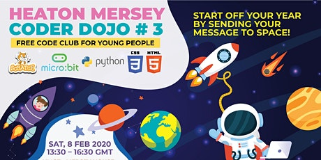 Heaton Mersey CoderDojo / CodeClub # 3 tickets