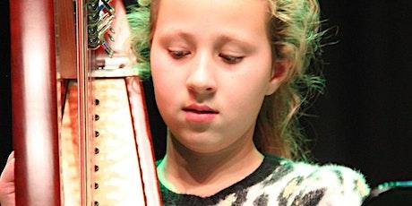 CURSUS - HARP voor kids - 4 lessen - 5 tm 10 jaar tickets
