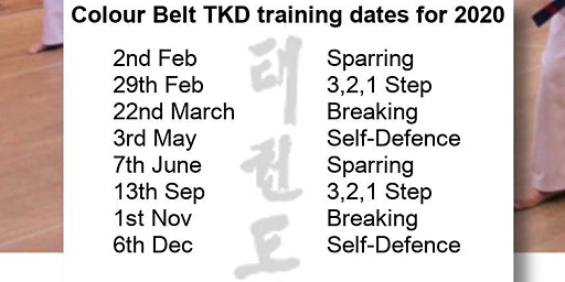 Colour Belt Training