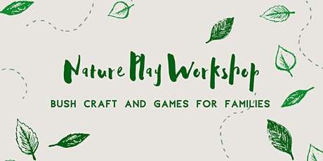 Nature Play Workshop tickets