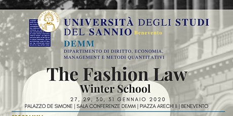 The Fashion Law Winter School biglietti