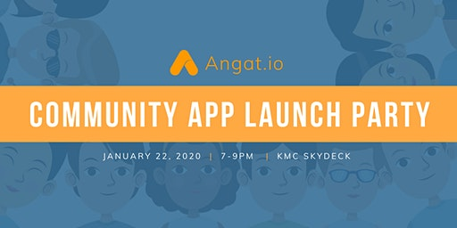 Angat.io - Community App Launch Party