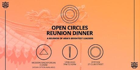 Open Circles Reunion Dinner tickets