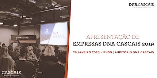 Apresentação novas empresas DNA Cascais 2019