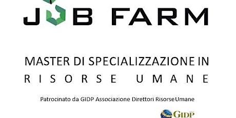 Open Day - MASTER RISORSE UMANE - Job Farm Firenze biglietti