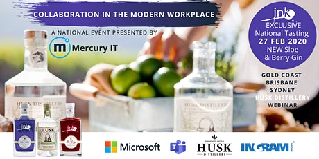 Collaboration in the Modern Workplace with Microsoft - WEBINAR 27FEB20 tickets