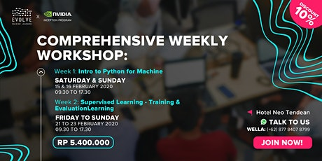 Comprehensive Workshop: Machine Learning Essentials with Python in 5-Day tickets