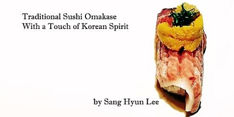 Omakase @ Takeshi by Chef Sang Hyun Lee tickets
