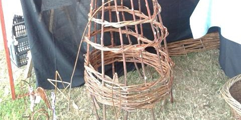 Willow structures for the Garden