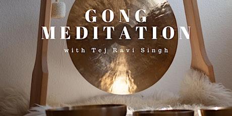 Gong Meditation with Tej Ravi Singh tickets