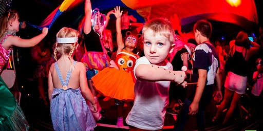 Big Fish Little Fish x Camp Bestival family rave tour Cardiff
