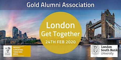 Gold Alumni Association- London tickets