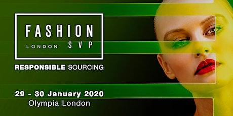 Fashion SVP at Olympia London tickets