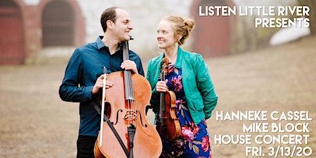 Hanneke Cassel & Mike Block Duo House Concert tickets